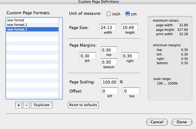 Frustrating Paper Sizes Naming in PrintFab Toolbox